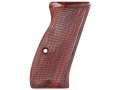 Product detail of CZ Grips CZ 75 Compact Checkered Cocobolo