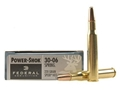 Product detail of Federal Power-Shok Ammunition 30-06 Springfield 220 Grain Speer Hot-Cor Soft Point Box of 20