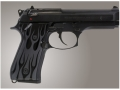 Product detail of Hogue Extreme Series Grip Beretta 92F, 92FS, 92SB, 96, M9 Flames Aluminum