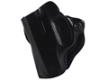 Product detail of DeSantis Mini Scabbard Outside the Waistband Holster S&W M&P Bodyguard 380 Leather