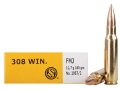 Product detail of Sellier & Bellot Ammunition 308 Winchester 180 Grain Full Metal Jacke...