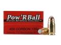 Product detail of Glaser Pow'RBall Ammunition 400 Cor-Bon 135 Grain Box of 20