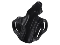 Product detail of DeSantis Thumb Break Scabbard Belt Holster Right Hand Beretta PX4 Storm 9mm, 40 Caliber Leather Black