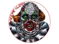 "Product detail of Lyman Zombie Dot Kreepy Klown Target 8"" Self-Adhesive Package of 10"