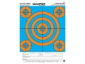 "Product detail of Champion Re-Stick 5 Bull Blue and Orange Self-Adhesive Targets 8.5"" x 11"" Paper Pack of 25"
