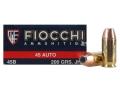 Product detail of Fiocchi Shooting Dynamics Ammunition 45 ACP 200 Grain Jacketed Hollow Point Box of 50