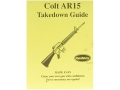 "Thumbnail Image: Product detail of Radocy Takedown Guide ""Colt AR-15"""