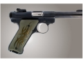 Product detail of Hogue Extreme Series Grip Ruger Mark II, Mark III Tribal Aluminum Green