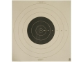 Product detail of NRA Official High Power Rifle Target SR-42 200 Yard Rapid Fire Paper Package of 50