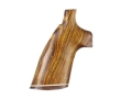 Product detail of Hogue Fancy Hardwood Grips with Accent Stripe Taurus Small Frame
