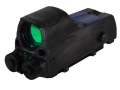 Product detail of Meprolight MOR Tri-Powered Reflex Sight 1x 30mm 4.3 MOA Dot with 5mW Red Laser Aiming Device and Quick Release Picatinny-Style Mount Matte