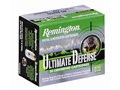 Product detail of Remington HD Ultimate Defense Ammunition 9mm Luger 124 Grain Brass Jacketed Hollow Point Box of 20
