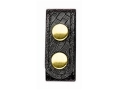 Product detail of Bianchi 7906 Elite Belt Keeper Brass Snap  Synthetic Leather Package of 4