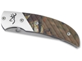 "Product detail of Browning Prism II Folding Knife 2.5"" Drop Point 440A Stainless Steel ..."