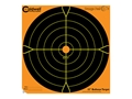 "Product detail of Caldwell Orange Peel Target 12"" Self-Adhesive Bullseye Blister Package of 5"