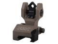 Product detail of Troy Industries Rear Flip-Up Battle Sight Di-Optic Aperture (DOA) with Tritium AR-15 Aluminum
