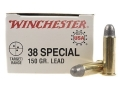 Product detail of Winchester USA Ammunition 38 Special 150 Grain Lead Round Nose