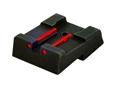 Thumbnail Image: Product detail of HIVIZ Rear Sight Taurus PT 1911 Steel Fiber Optic
