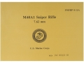 "Product detail of ""M40A1 Sniper Rifle: 7.62mm U.S. Marine Corps"" Military Manual by Uni..."