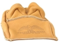 Product detail of Protektor Bunny Ear Rear Shooting Rest Bag Leather Tan Unfilled