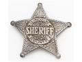 Product detail of Collector's Armoury Replica Old West Deluxe Lincoln Co. Sheriff - Pat Garrett Badge