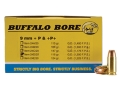Product detail of Buffalo Bore Ammunition 9mm Luger +P 115 Grain Jacketed Hollow Point Box of 20