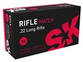 Thumbnail Image: Product detail of SK Rifle Match Ammunition 22 Long Rifle 40 Grain ...