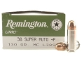 Product detail of Remington UMC Ammunition 38 Super +P 130 Grain Full Metal Jacket