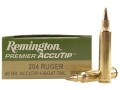 Thumbnail Image: Product detail of Remington Premier Varmint Ammunition 204 Ruger 40...