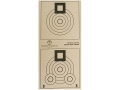 Product detail of National Target International Bench Rest Shooters Target IBS 200 YD Bench Rest Paper Package of 100