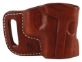 Product detail of El Paso Saddlery Combat Express Belt Slide Holster Right Hand Sig Sauer P220, P226, P229, P228, P225 Leather Russet Brown