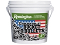 Product detail of Remington Ammunition 22 Long Rifle 36 Grain Plated Lead Hollow Point Bucket of 1400