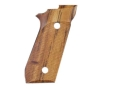 Product detail of Hogue Fancy Hardwood Grips Taurus PT99 with Frame Mounted Safety Checkered