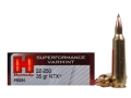 Product detail of Hornady Superformance Varmint Ammunition 22-250 Remington 35 Grain NTX Lead-Free Box of 20