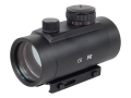 Product detail of Tasco Red Dot Sight 47mm Tube 1x 42mm 5 MOA Dot with Integral Weaver-Style Mount Matte