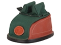 Product detail of Edgewood Original Rear Shooting Rest Bag Tall with Regular Ears and Wide Stitch Width Leather and Nylon Green Unfilled