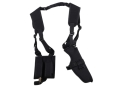 Product detail of DeSantis V84 Dragonfly Shoulder Holster Ambidextrous Fits Large Frame Semi-automatics Nylon Black