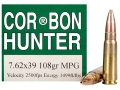 Product detail of Cor-Bon Ammunition 7.62x39mm 108 Grain Barnes Multi-Purpose Green (MPG) Hollow Point Lead-Free Box of 20