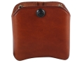 Product detail of El Paso Saddlery Double Magazine Pouch Double Stack 45 ACP, 10mm Magazine Leather Russet Brown