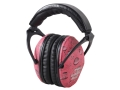 Thumbnail Image: Product detail of Pro Ears ReVO Earmuffs (NRR 26 dB) Pink Rain