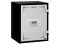 Product detail of Stack-On Fire Resistant Personal Safe Electronic Lock Black with White Door