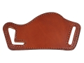 Product detail of Bianchi 101 Foldaway #16 Outside the Waistband Holster Right Hand Large Frame Semi-automatics Leather Tan