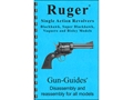 "Product detail of Gun Guides Takedown Guide ""Ruger Single Action Revolvers"" Book"