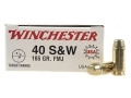 Thumbnail Image: Product detail of Winchester USA Ammunition 40 S&W 165 Grain Full M...