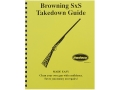 "Product detail of Radocy Takedown Guide ""Browning SxS"""