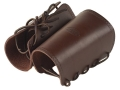 Product detail of Hunter 1083 Cowboy Wrist Cuffs Leather Antique Brown