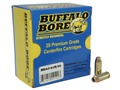 Product detail of Buffalo Bore Ammunition 10mm Auto 180 Grain Jacketed Hollow Point Box of 20