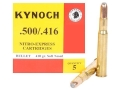 Product detail of Kynoch Ammunition 500-416 Nitro Express 410 Grain Woodleigh Welded Core Soft Point Box of 5