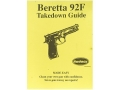 "Product detail of Radocy Takedown Guide ""Beretta 92F"""
