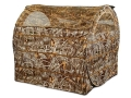 "Product detail of Ameristep Hayhouse Ground Blind 60"" x 60"" x 60"" Polyester Realtree Max-4 Camo"